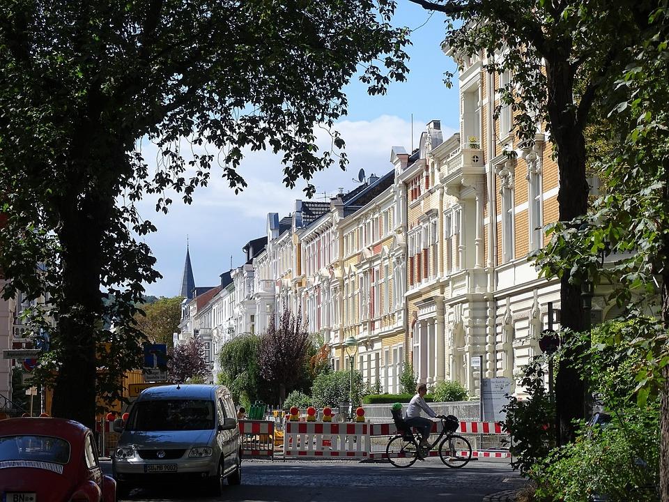 Bonn, Südstadt, Townhouses