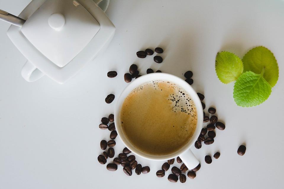 Coffee, Sugar Bowl, Mint, Teacup, Cutlery, Holidays