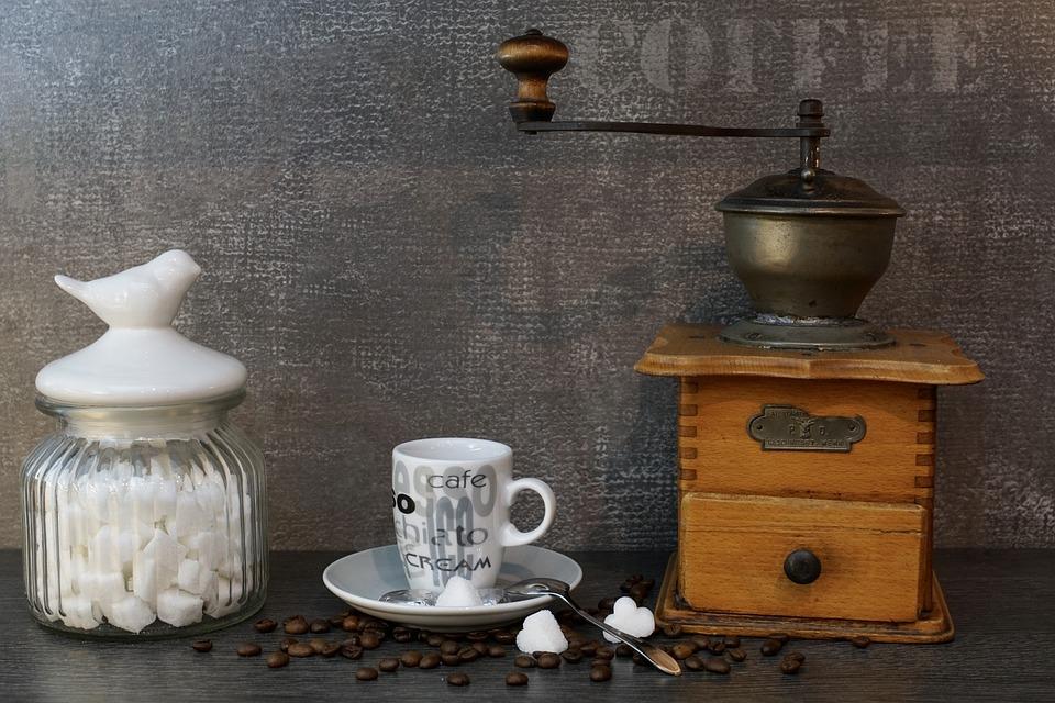 Grinder, Sugar Bowl, Old, Coffee, Antique, Espresso