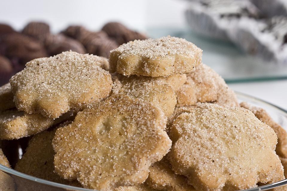 Cookies, Sugar, Polvorones, Desserts, Treats, Snacks