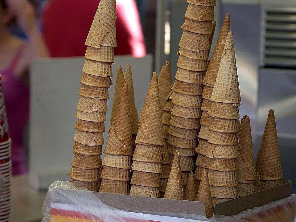 Cones, Icecream, Suger, Cakes, Desserts, Drink, Food