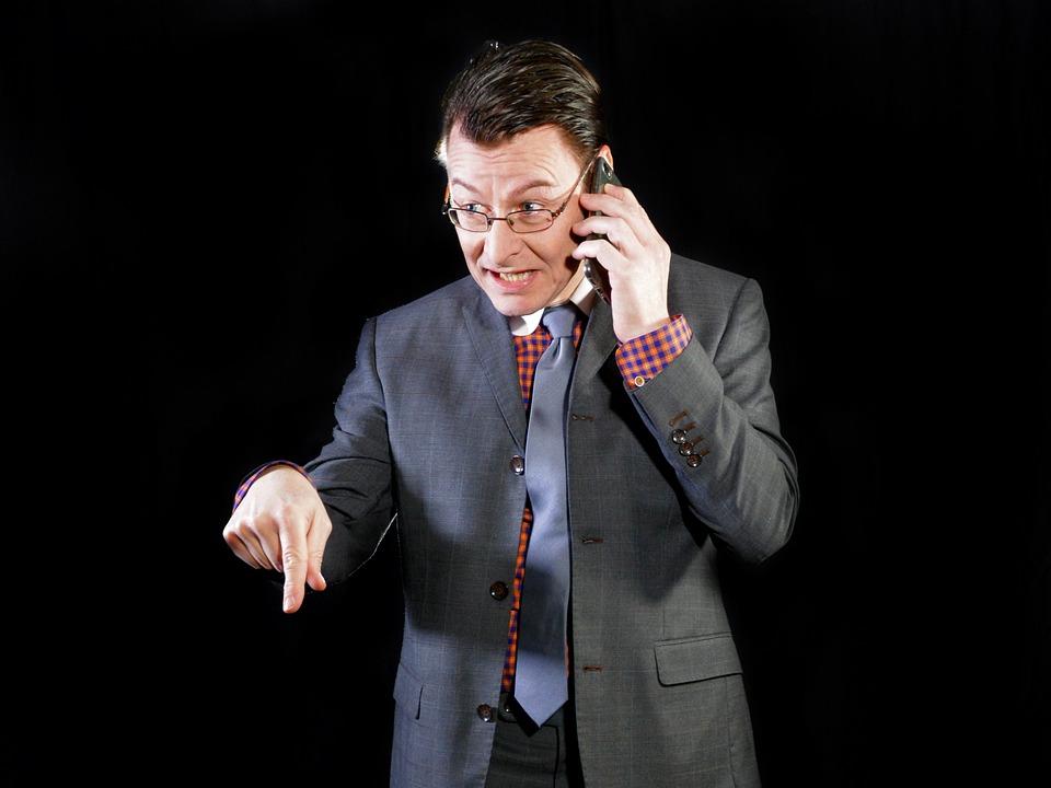 Manager, Businessman, Boss, Suit, Tie, Determining