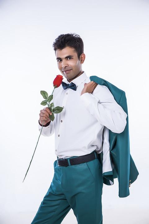 Man, Person, Success, Fine-looking, Groom, Suit