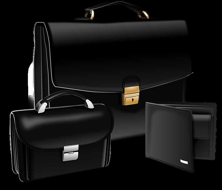 Briefcase, Purse, Suitcase, Portfolio, Attache Case