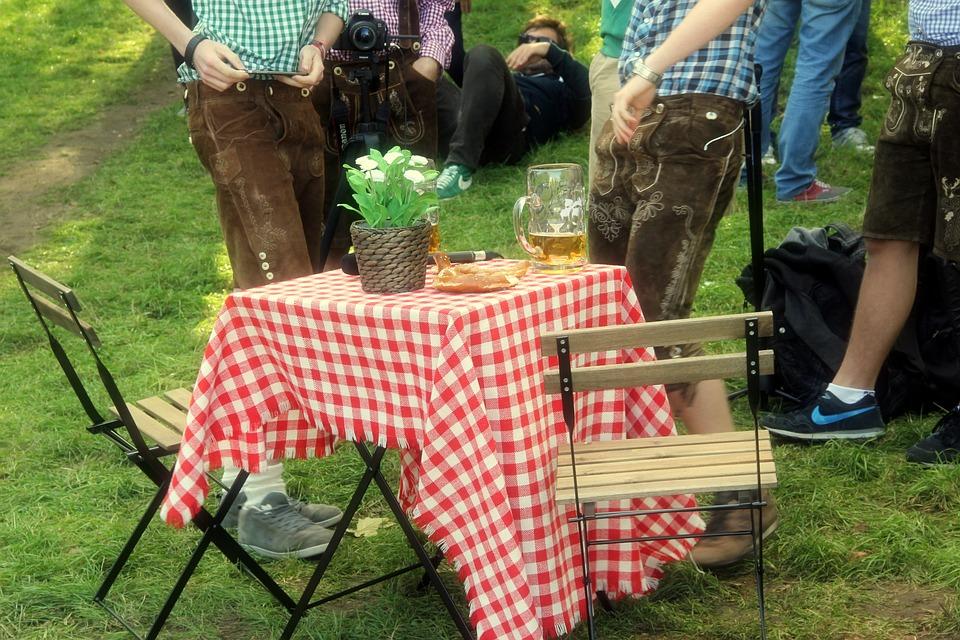 Bavaria, Germany, Beergarden, People, Outdoors, Summer
