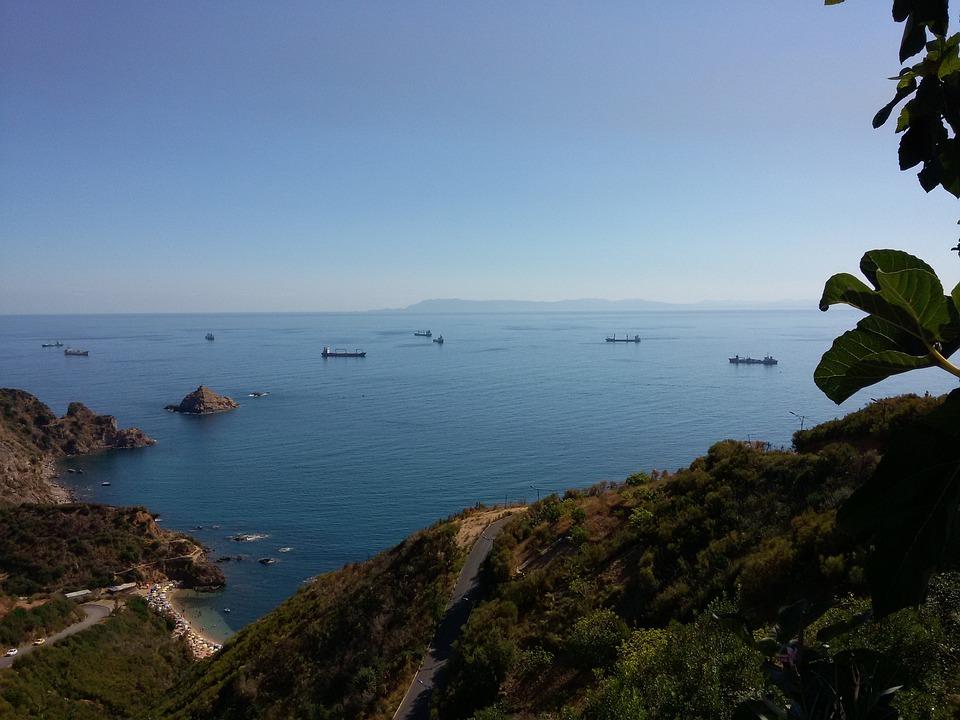 Sea, Algeria, Nature, Holidays, Summer, Beach