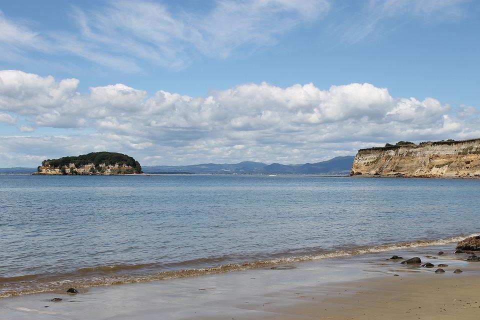Beach, New Zealand, Summer