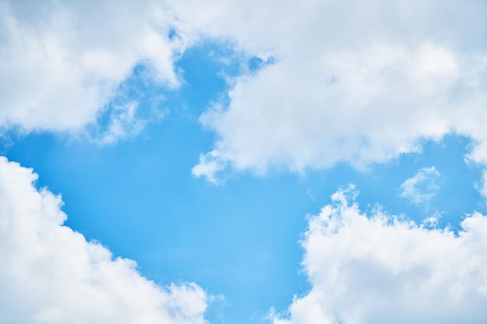 Sky, Blue, Clouds, Nature, Summer, Atmosphere, Calm
