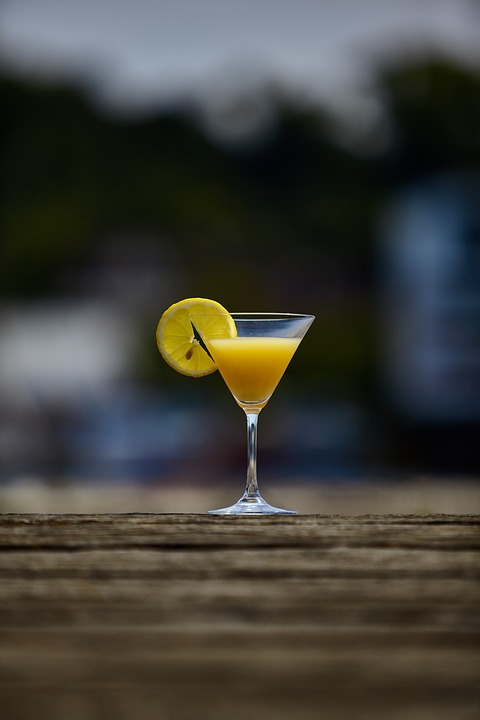 Cocktail, Sums, Summer, Zitrone, Lemon