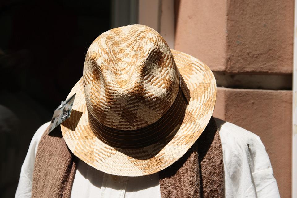Hat, Fashion, Summer, Label, Panama Hat