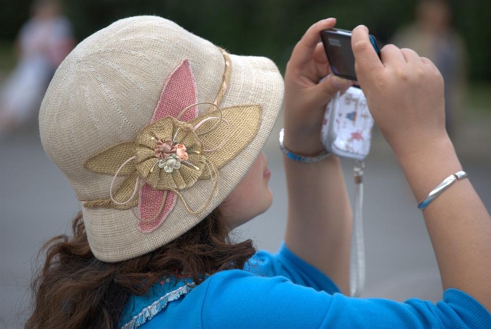 Hat, Clothing, Feminine, Summer, Flower Motif