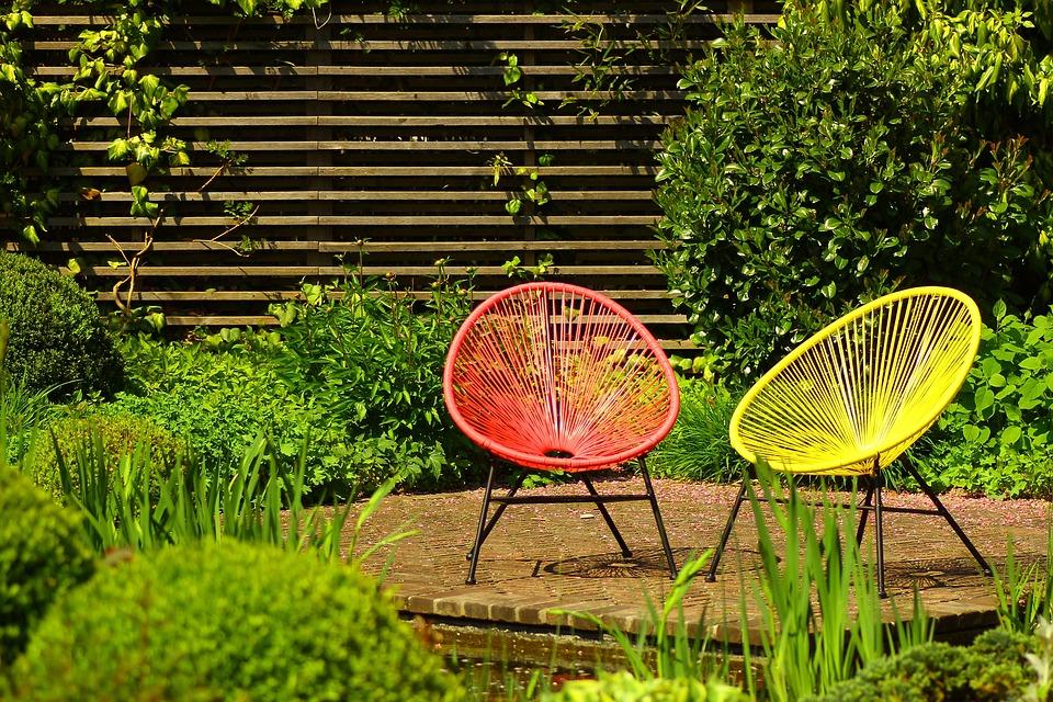 Garden, Nature, Summer, Garden Chairs, Terrace, Seat