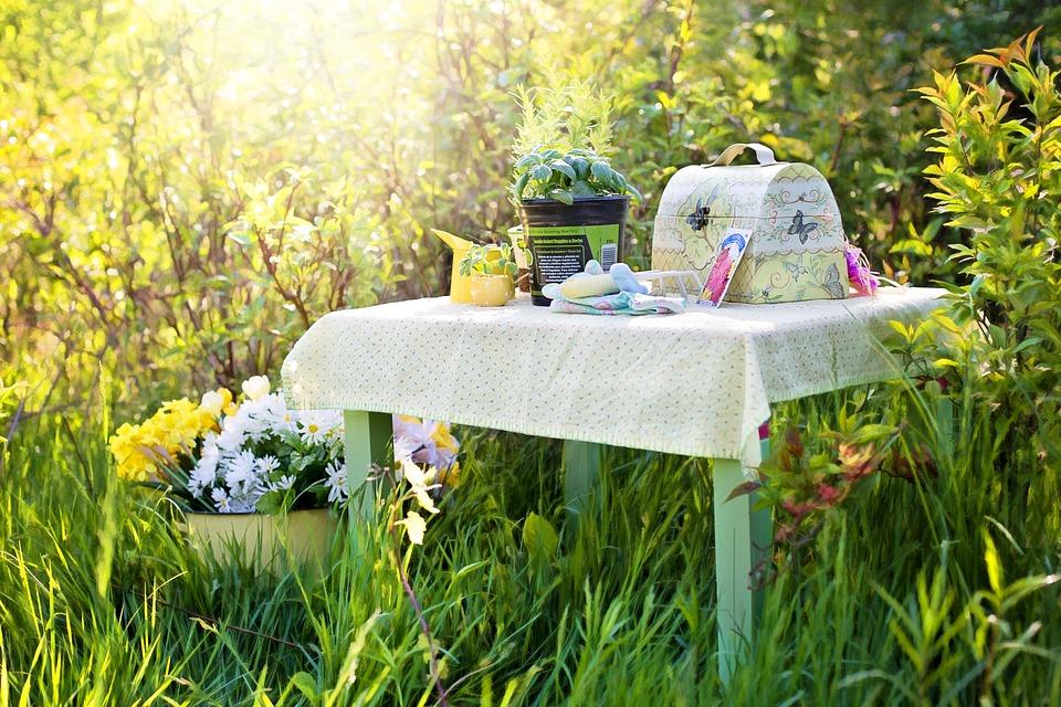 Planting, Herbs, Summer, Gardening, Garden Tools