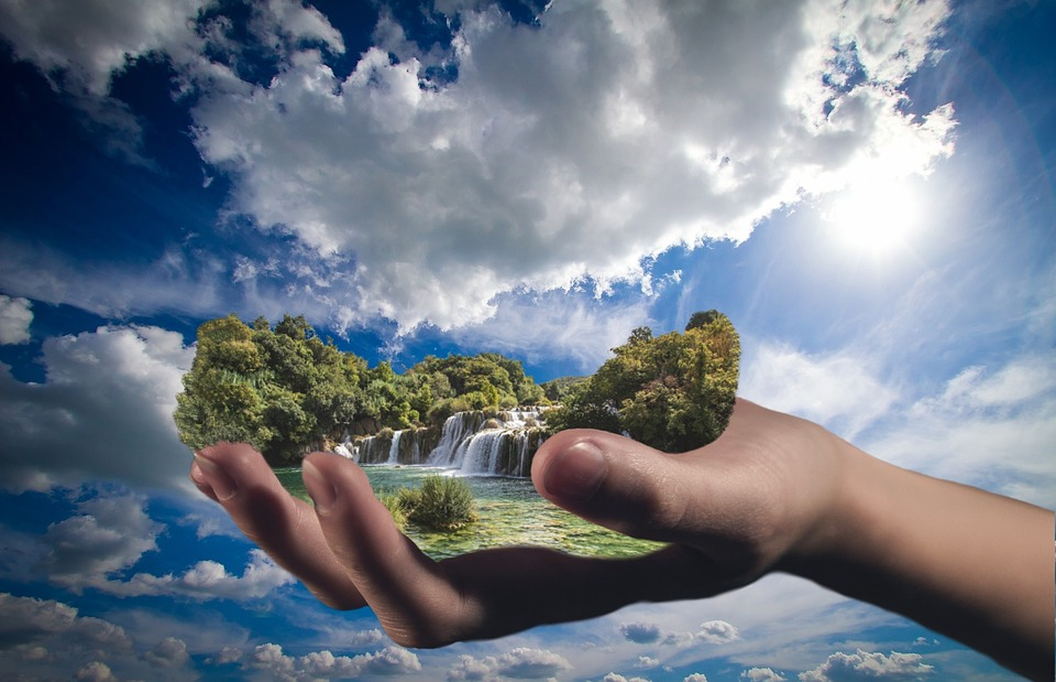 Sky, Summer, Nature, Outdoors, Beautiful, Gimp