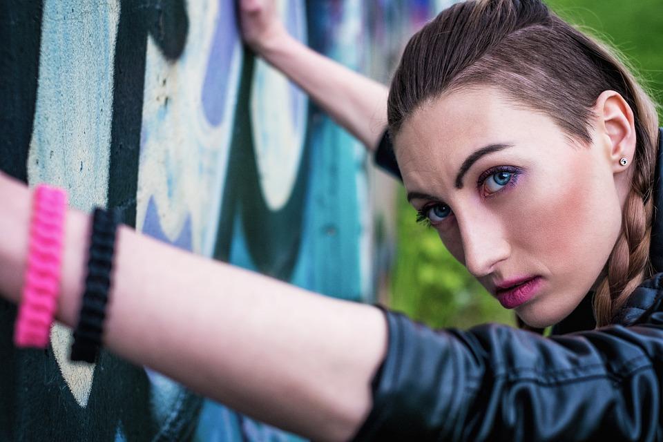 Girl, Yaroslavl, Portrait, Summer, Rock, Strongwomen