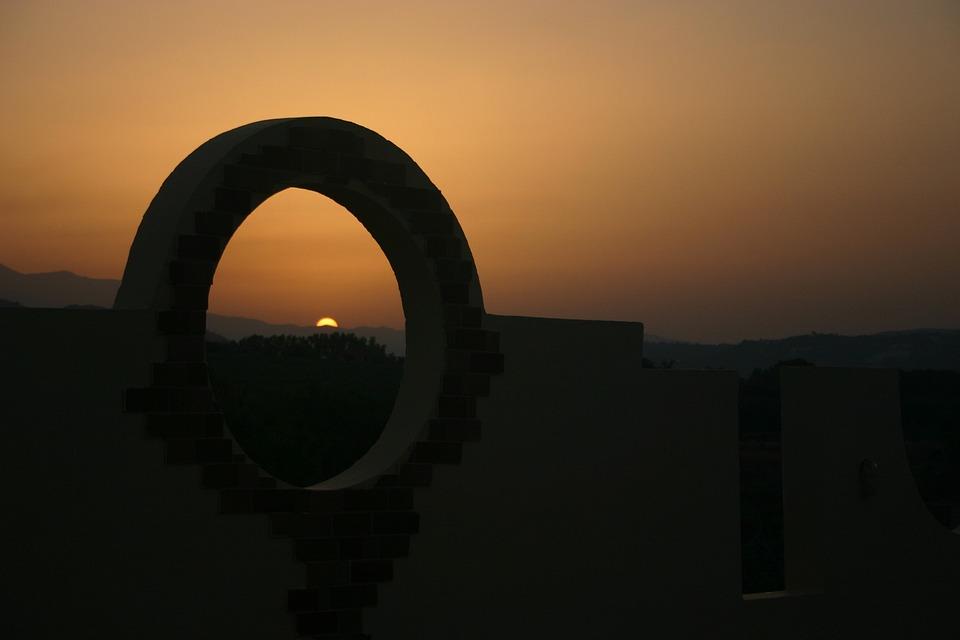 Greece, Sunset, Crete, Summer