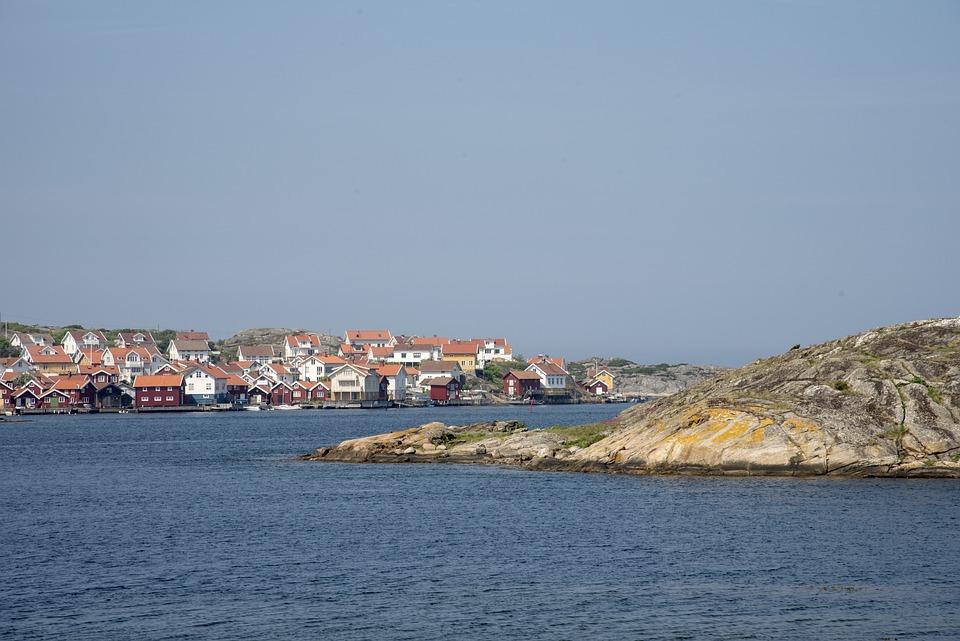 Gullholmen, Sea, Coastal, Sweden, Archipelago, Summer
