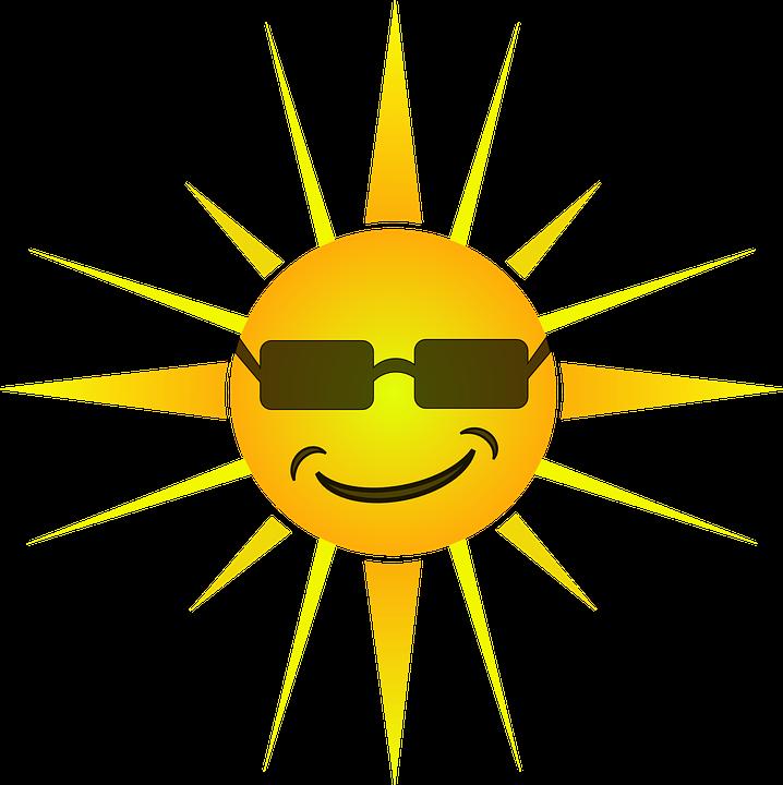 Sun, Summertime, Summer, Face, Happy, Smile, Sunglasses