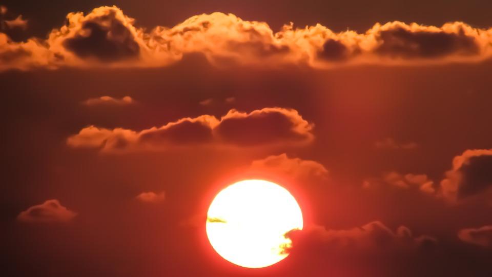 Sunset, Cyprus, Ayia Napa, Sun, Heat, Summer