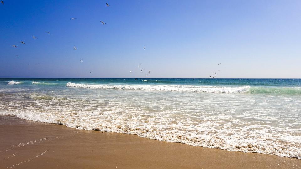 Beach, Sea, Summer, Holiday, By The Sea, Lisbon