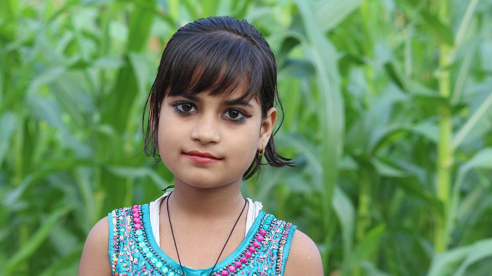 Nature, Summer, Beautiful, Outdoors, Indian Child