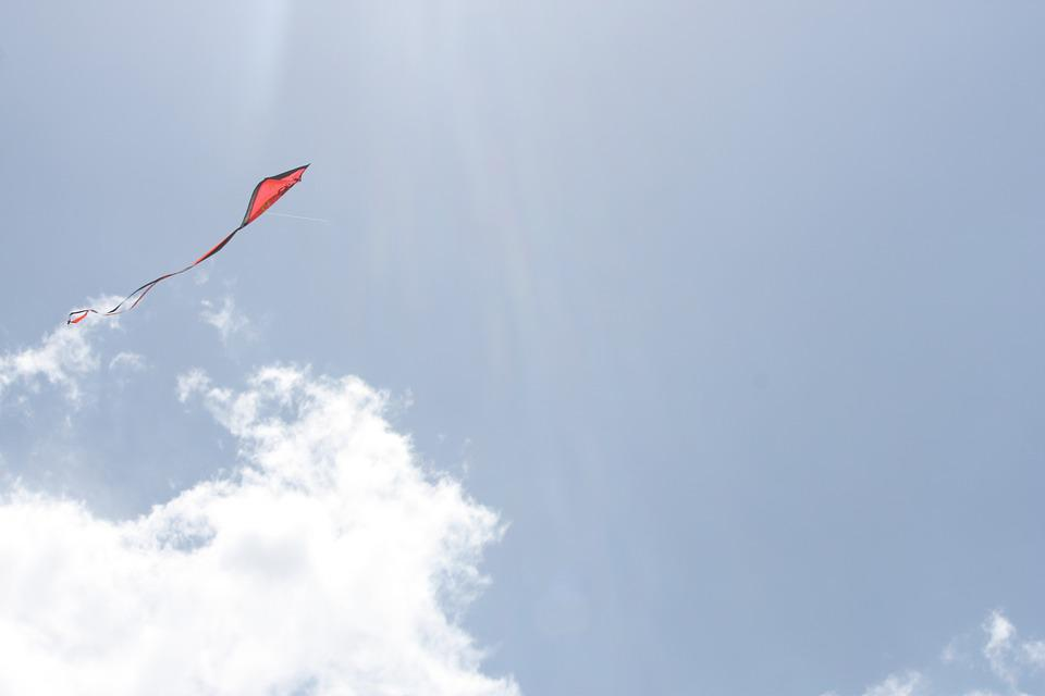 Kite, Sky, Summer, Freedom, Wind