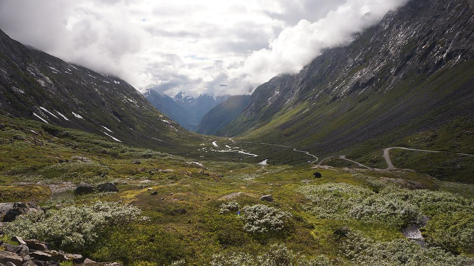 Free photo Summer Landscape Nature Mountains Norway Outdoor Max Pixel
