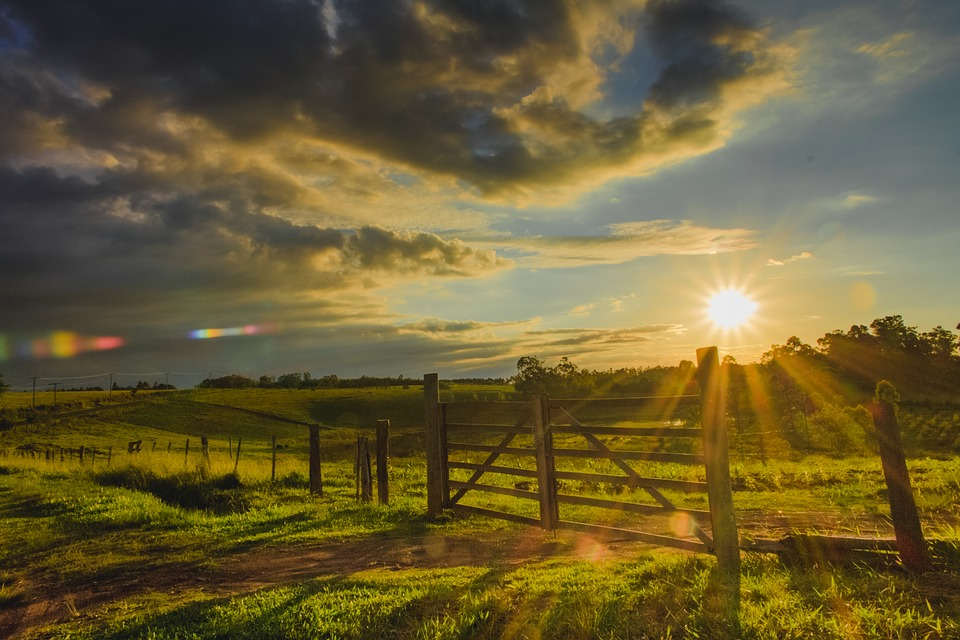 Sunset, Nature, Sol, Landscape, Sky, Outdoors, Summer