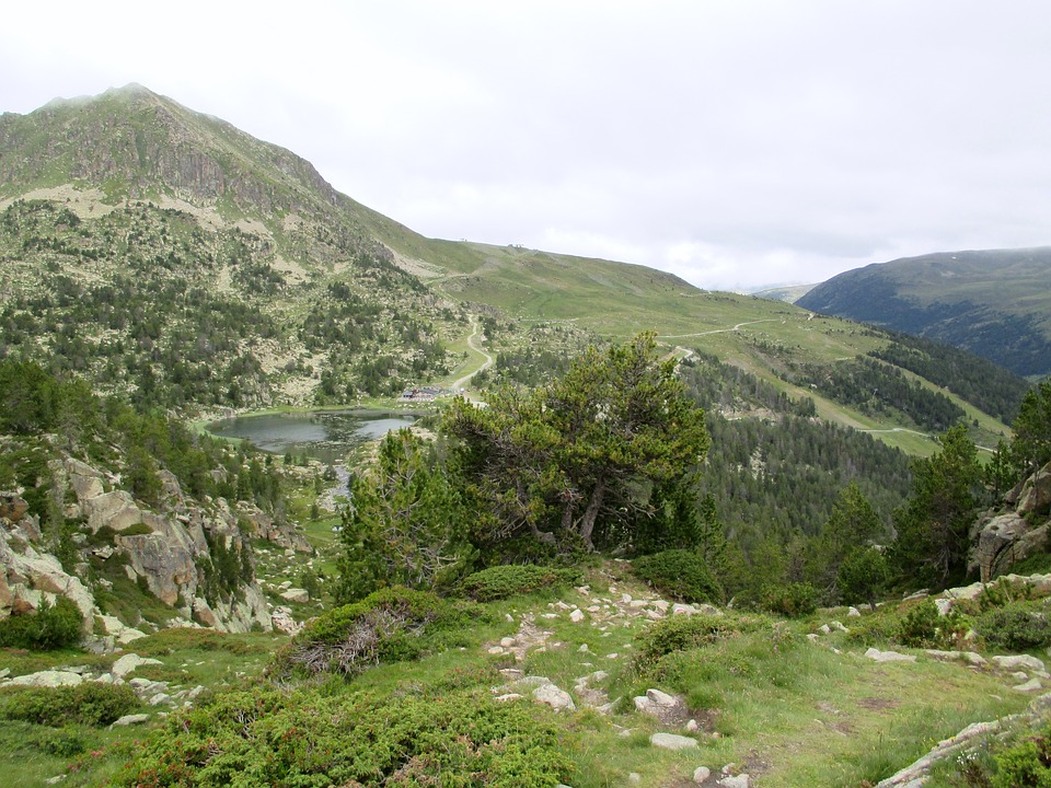 Andorra, Mountains, Summer