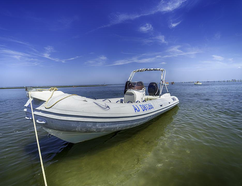 Sea, Boat, Ocean, Water, Sky, Nature, Beach, Summer