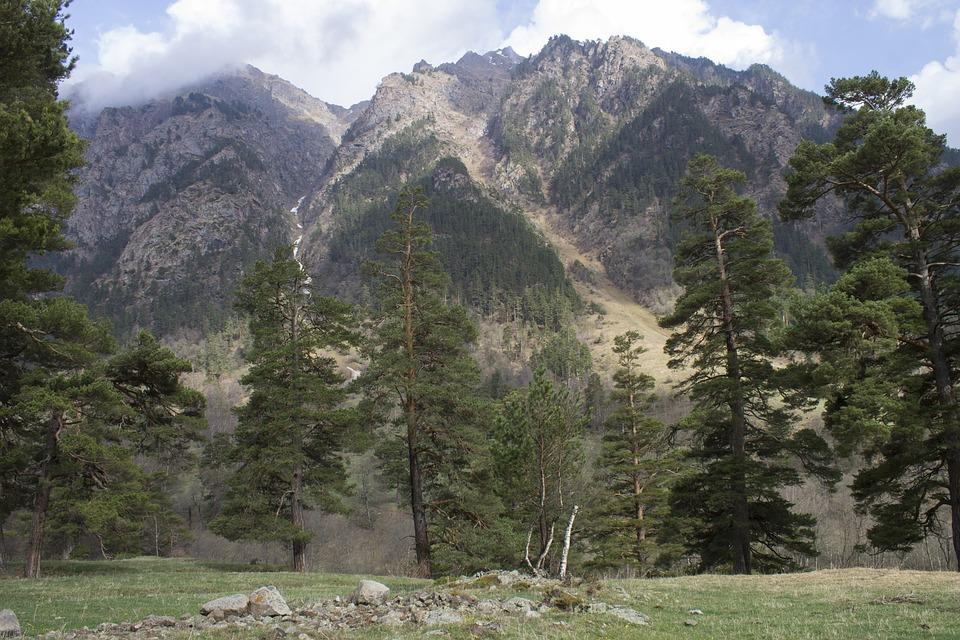 Nature, Mountains, Landscape, Rocks, Summer