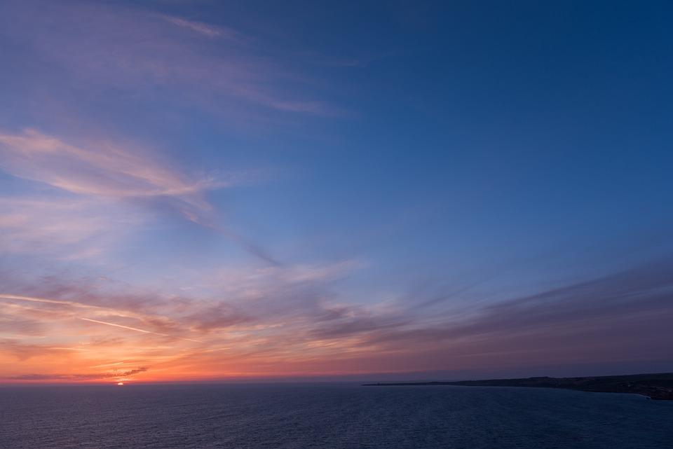 Sky, Ocean, Sunset, Sea, Summer, Water, Beach, Nature