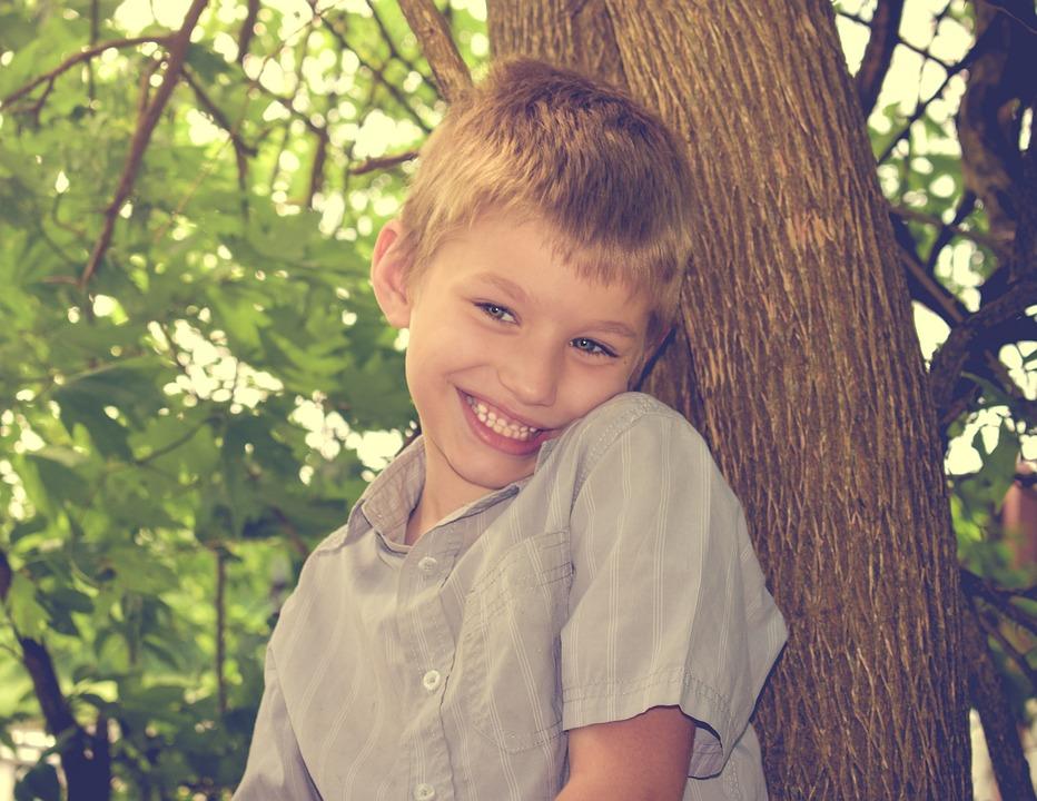 Happy, Boy, Autism, Kid, Childhood, Summer, Outdoor