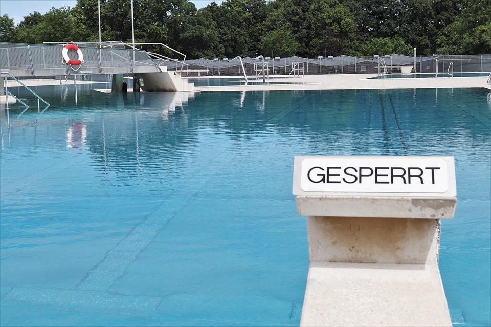 Outdoor Pool, Summer, Water, Swimming Pool, Swim