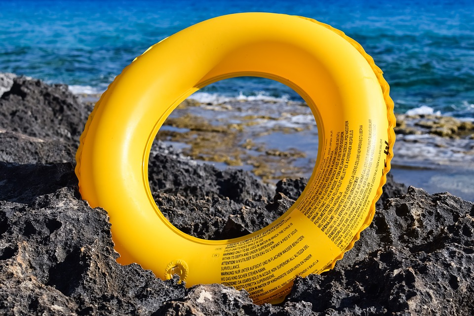 Life Vest, Yellow, Safety, Rescue, Summer, Beach, Sea