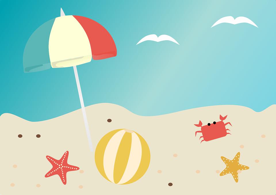 Beach, Summer, Beach Ball, Sea, Vacation, Sand, Ocean