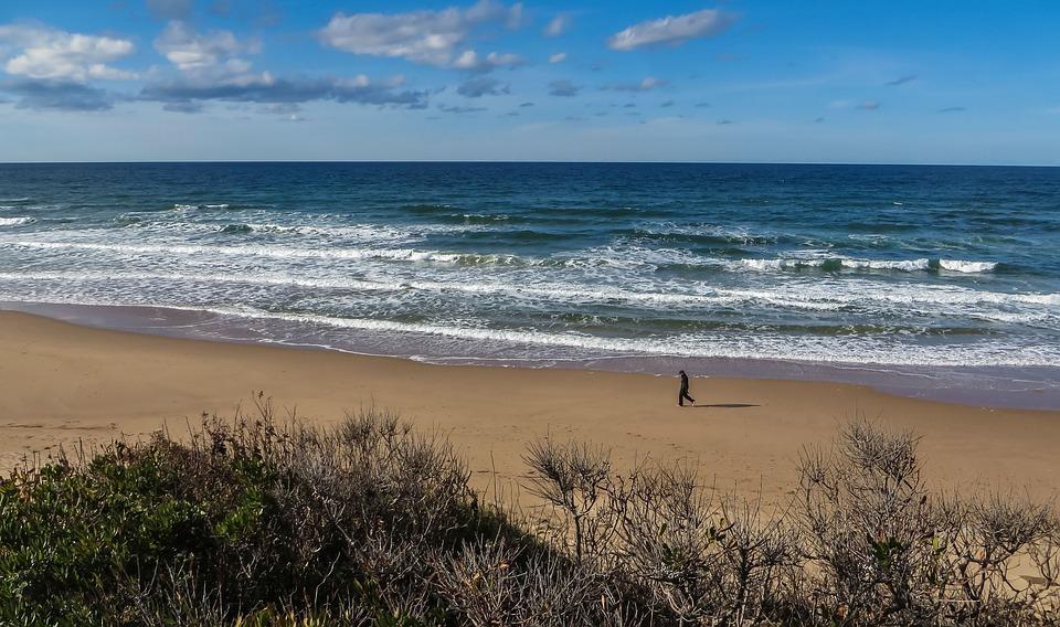 Sea, Ocean, Walk, Beach, Water, Summer, Vacation, Sand