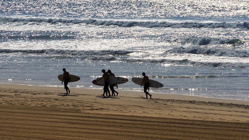 Beach, Sea, Surf, Coast, Leisure, Summer, Sand