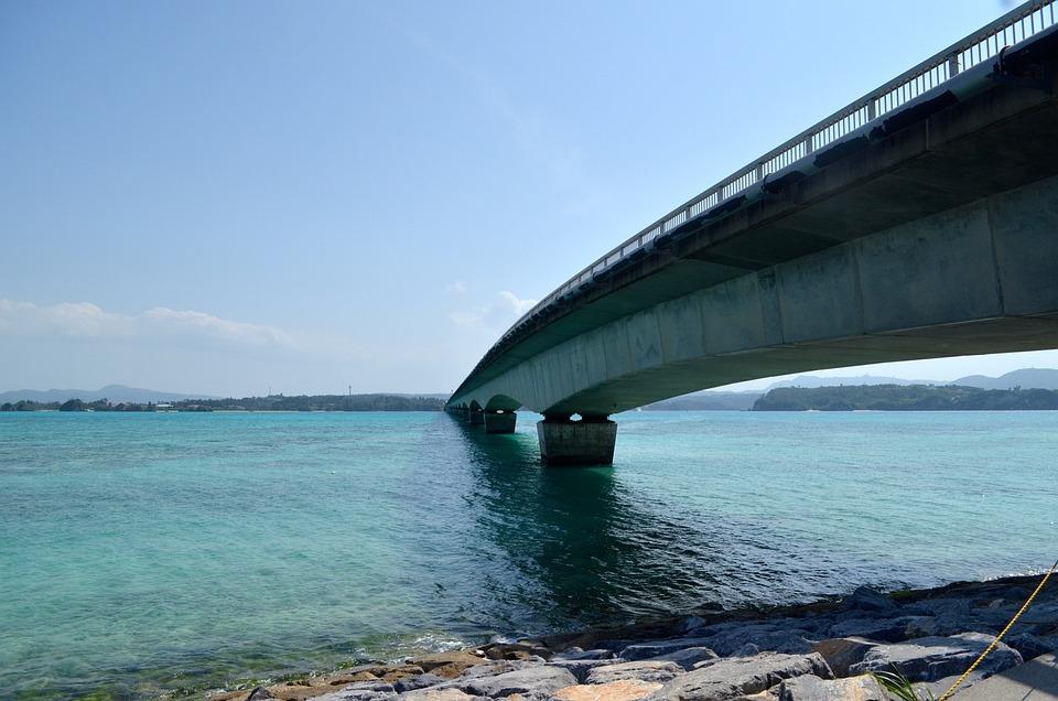 Okinawa, Sea, Island, Outlying Islands, Summer, Blue