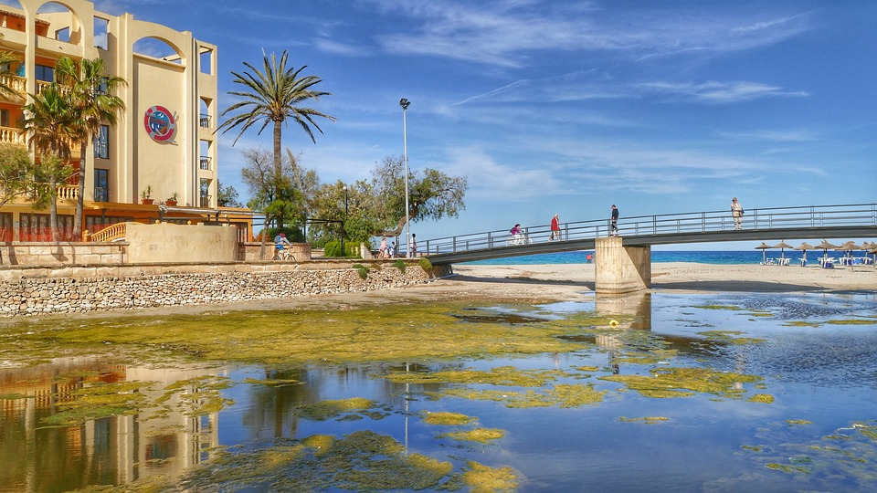 Mallorca, Spain, Sky, Summer, Sea, Vacations