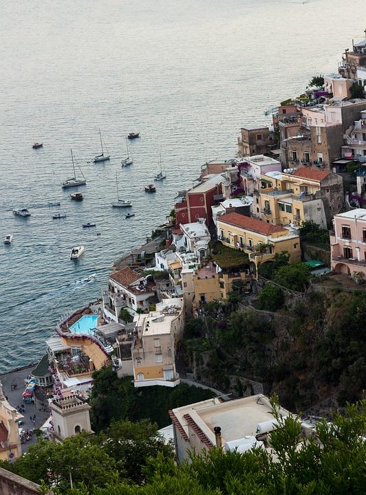 Positano, Naples, Italy, Travel, Summer, Marine, Solar