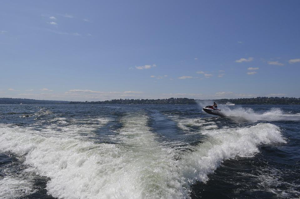 Jet, Ski, Jet Ski, Water, Summer, Boat, Beach, Speed