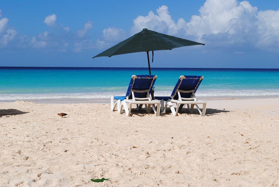 Beach, Barbados, Rockley, Summer, Sun, Holidays