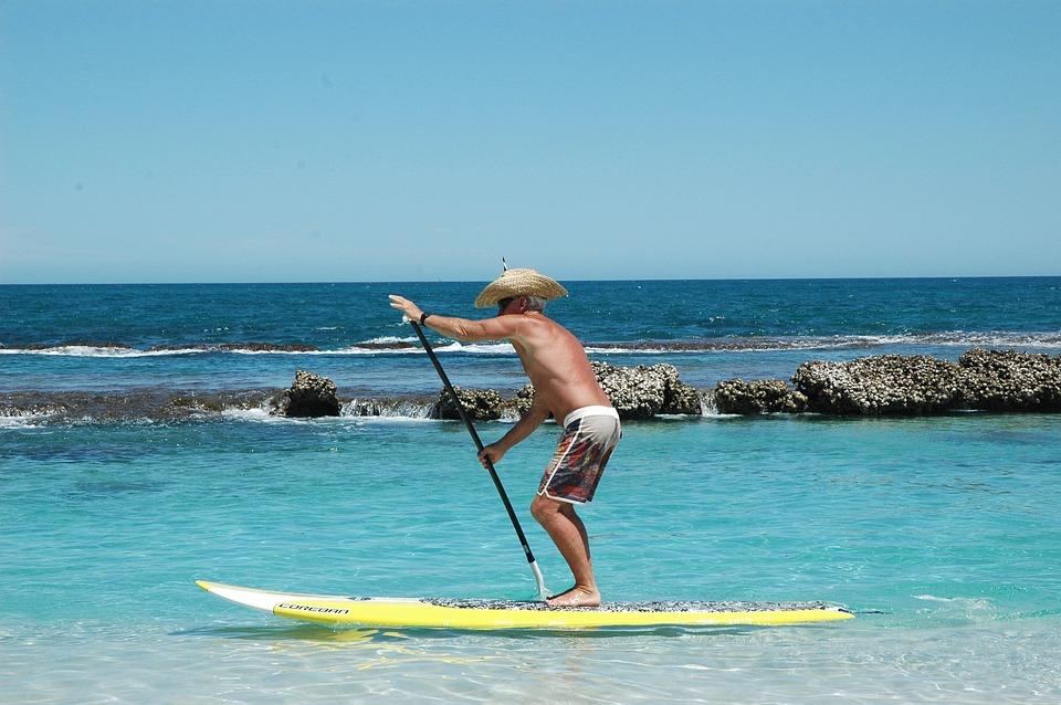 Standup Paddle Boarding, Sup, Ocean, Summer, Paddle
