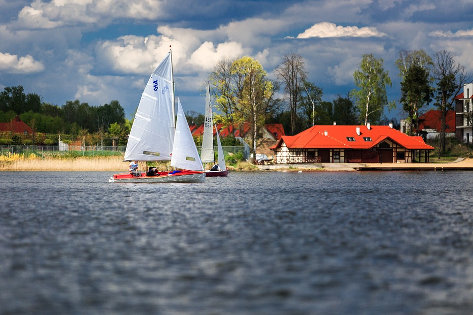Boat, The Ship, Lake, Summer, The Sail, Yacht, Nature
