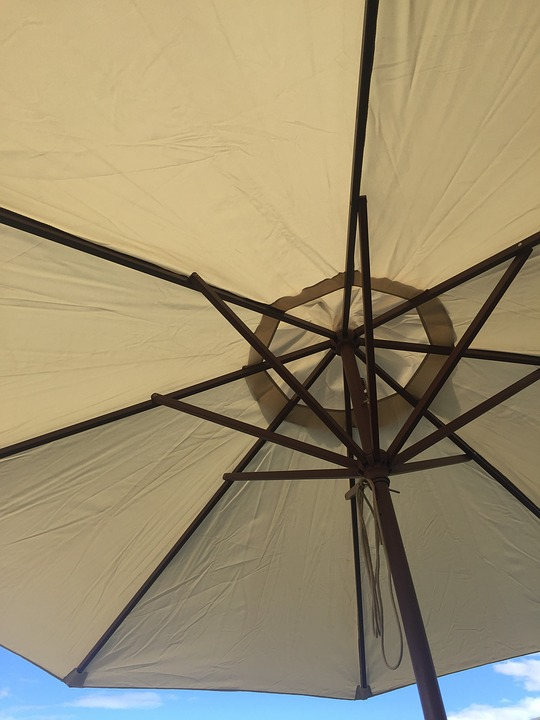 Umbrella, Underside, Summer