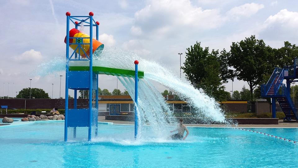 Swimming Pool, Water Fun, Summer, Water, Swimming, Fun