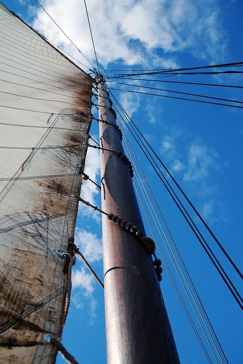 Sea, Boot, Sail, Ship, Water, North Sea, Summer, Mast