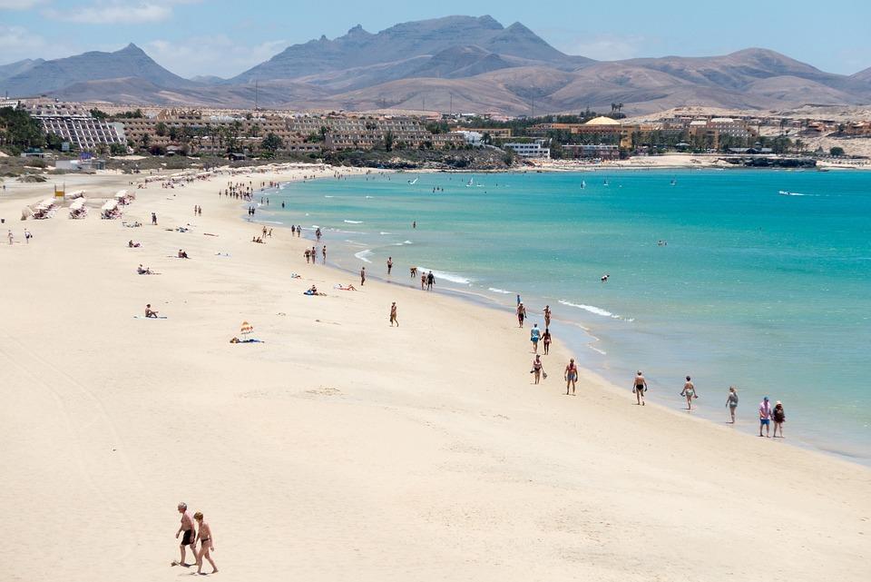 Beach, Fuerteventura, Vacations, Summer, Water, Sea
