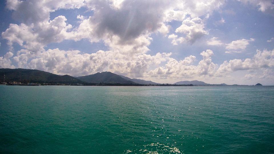 Thailand, Sea, Clouds, Water, Travel, Tropical, Summer